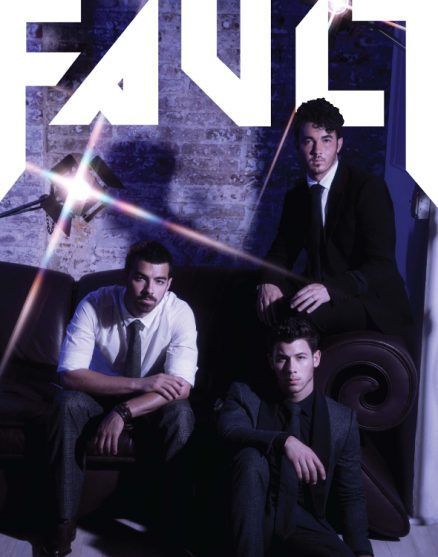 FAULT Issue 16 reverse cover Jonas Brothers