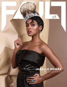 FAULT Magazine Issue 28 front janelle monae