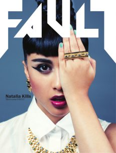 FAULT Magazine Issue 8 Natalia Kills Front Cover