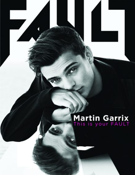 FAULT Magazine Issue 26 - Martin Garrix Front Cover