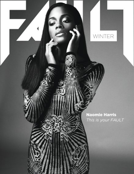 fault magazine issue 17 naomie harris front cover