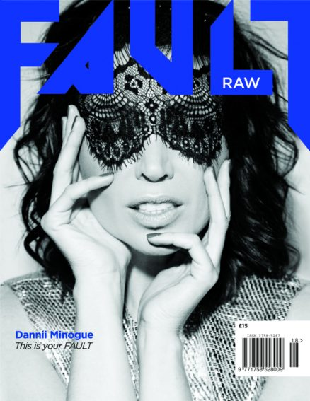 fault magazine issue 18 dannii minogue reverse cover