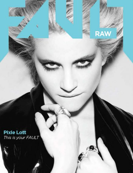 fault magazine issue 18 pixie lott front cover