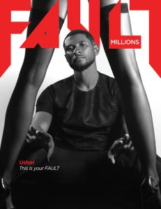 fault magazine issue 19 usher front cover