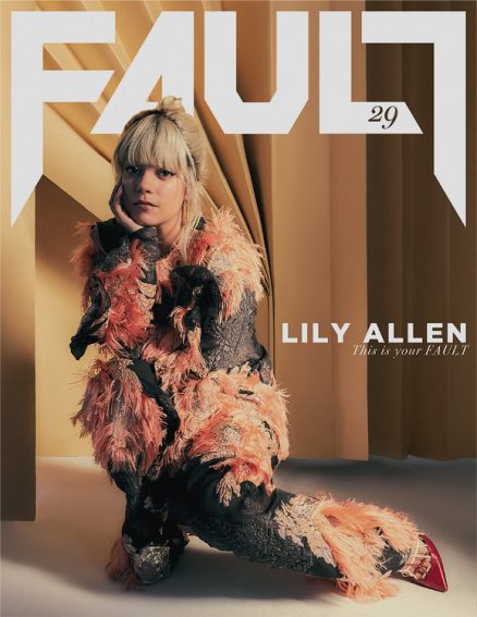 fault magazine issue 29 front lily allen