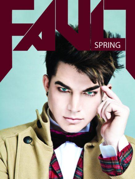 FAULT Magazine Issue 10 Adam Lambert Front Cover