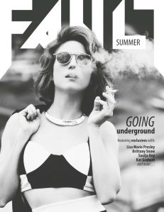 fault magazine issue 11 lisa marie presley front cover