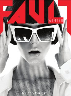 FAULT Magazine Issue 9 Ali Lohan Front Cover