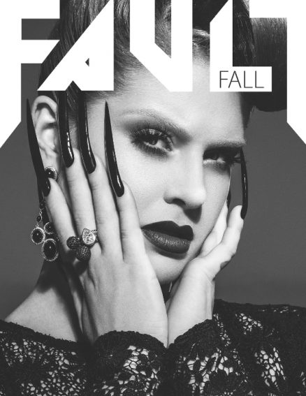 fault magazine issue 12 kelly osbourne front cover