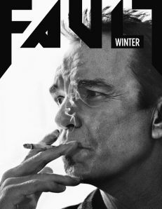 fault magazine issue 13 billy bob thornton front cover standard edition