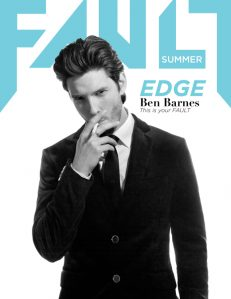 fault magazine issue 15 front cover ben barnes