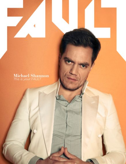 fault magazine issue 15 reverse cover michael shannon