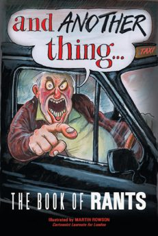 and another thing the book of rants book cover