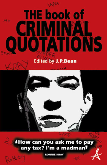 the book of criminal quotations book cover