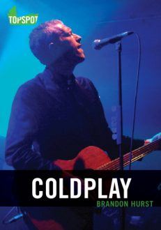 coldplay book cover